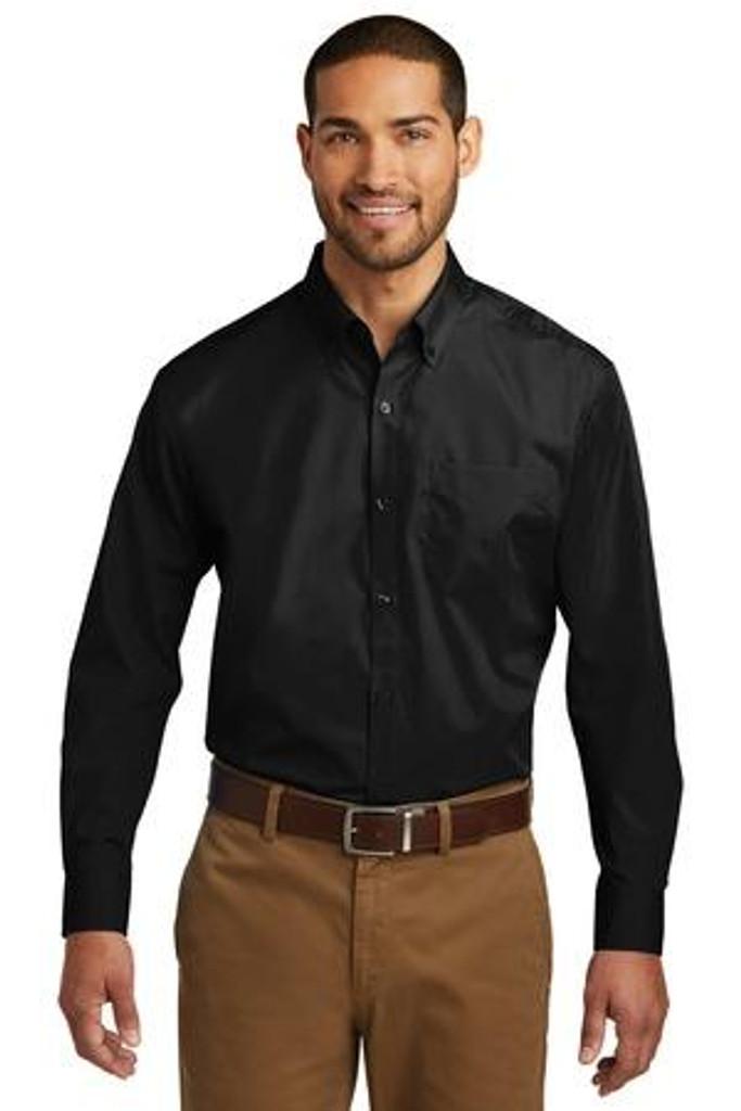 Tall Long Sleeve Carefree Poplin Shirt