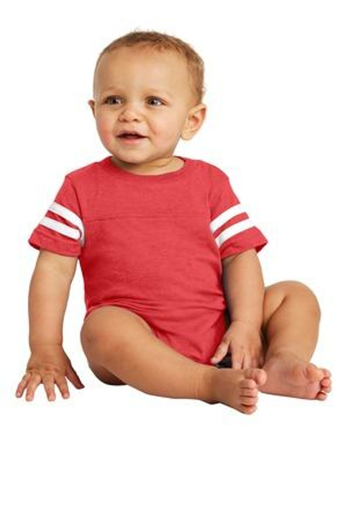 Infant Football Fine Jersey Bodysuit