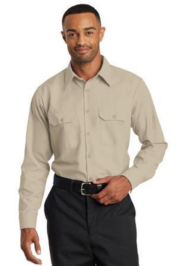 Long Sleeve Solid Ripstop Shirt