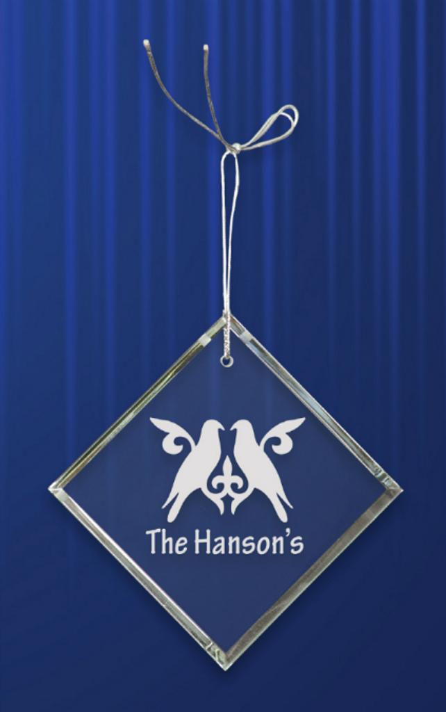 Crystal Diamond Ornament