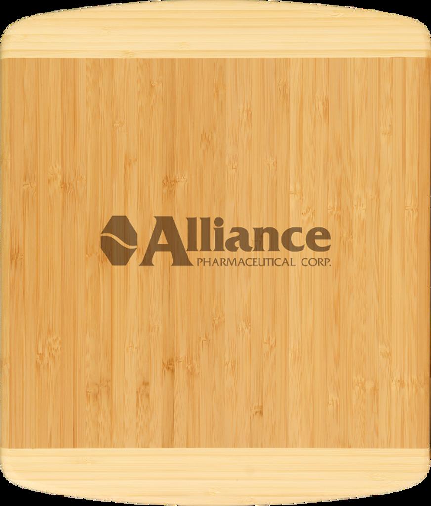 Genuine Bamboo Two-Tone Rectangle Cutting Board