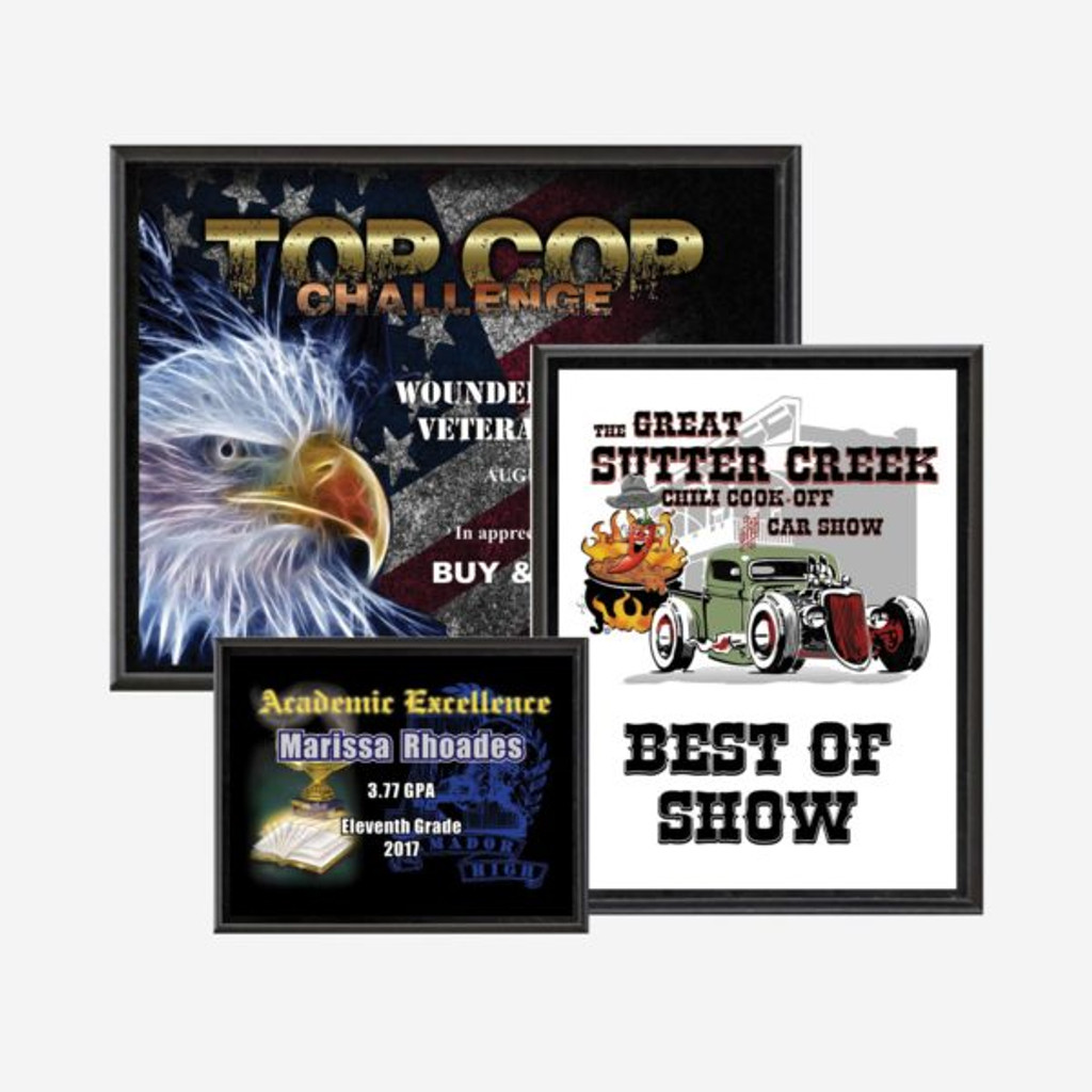 Full Color Plaque (Sublimated)