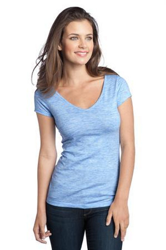 Juniors Extreme Heather V-Neck Tee