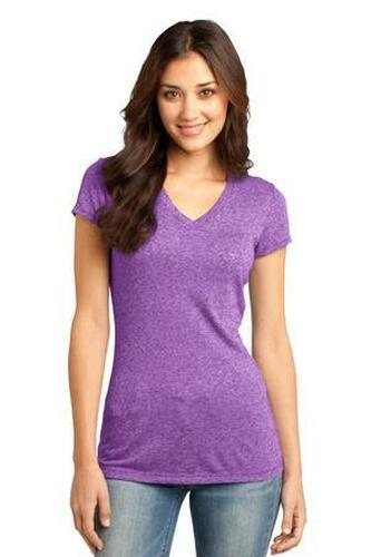 Juniors Microburn V-Neck Tee