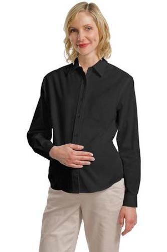 Maternity Long Sleeve Easy Care Shirt