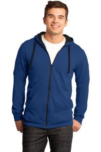 Young Mens The Concert Fleece Full-Zip Hoodie