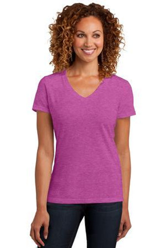 Ladies Perfect Blend V-Neck Tee