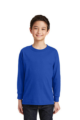 Youth Heavy Cotton 100% Cotton Long Sleeve T-Shirt