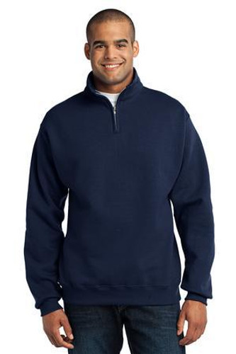 NuBlend 1/4-Zip Cadet Collar Sweatshirt