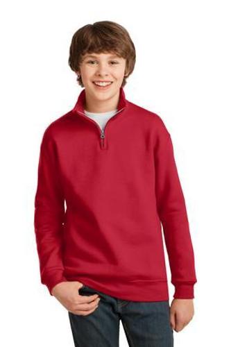 Youth NuBlend 1/4-Zip Cadet Collar Sweatshirt