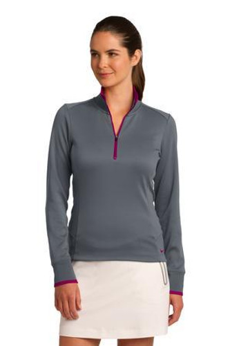 Ladies Dri-FIT 1/2-Zip Cover-Up