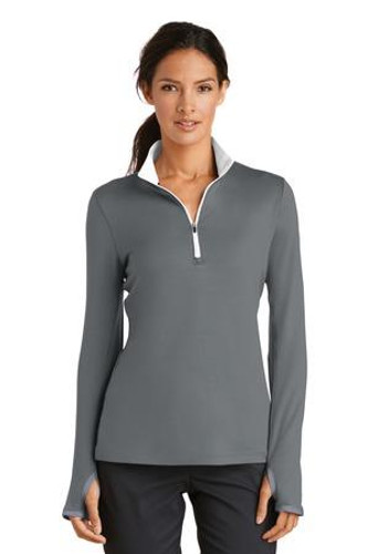 Ladies Dri-FIT Stretch 1/2-Zip Cover-Up 779796