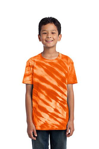 Youth Tiger Stripe Tie-Dye Tee