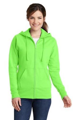 Ladies Core Fleece Full-Zip Hooded Sweatshirt