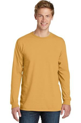 Pigment-Dyed Long Sleeve Tee
