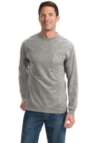 Tall Long Sleeve Essential Pocket Tee
