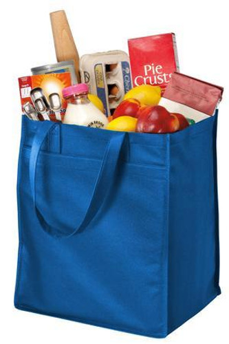 Extra-Wide Polypropylene Grocery Tote