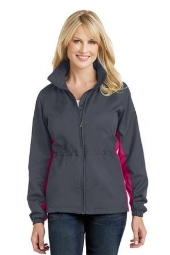 Ladies Core Colorblock Wind Jacket