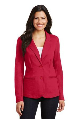 Ladies Knit Blazer
