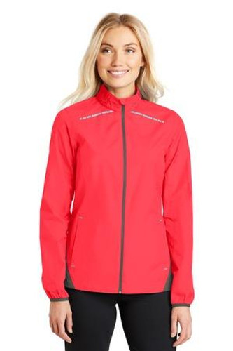 Ladies Zephyr Reflective Hit Full-Zip Jacket