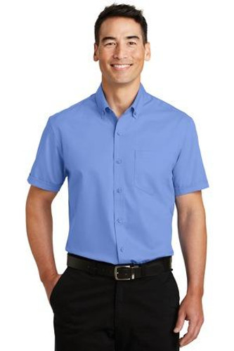 Heavy Short Sleeve SuperPro Twill Shirt