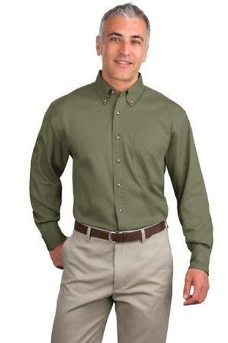 Tall Long Sleeve Twill Shirt