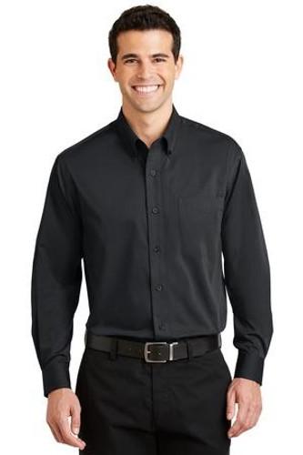 Tonal Pattern Easy Care Shirt