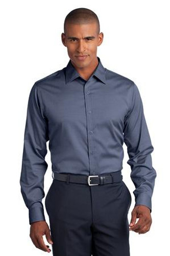 Slim Fit Non-Iron Pinpoint Oxford Shirt