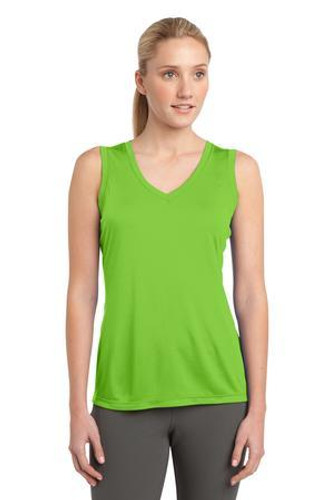 Ladies Sleeveless  Competitor V-Neck Tee