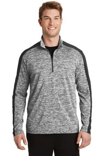 Electric Heather Colorblock 1/4-Zip Pullover