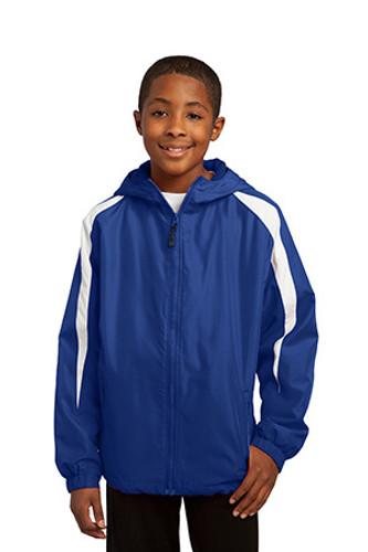 Youth Fleece-Lined Colorblock Jacket