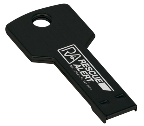 GB Black Key USB Flash Drive