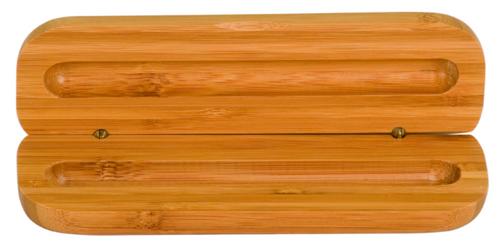 Bamboo Pen Case
