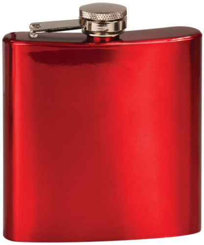 Gloss Red Stainless Steel Flask