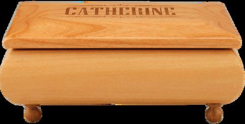 Small Genuine Red Alder Gift Box