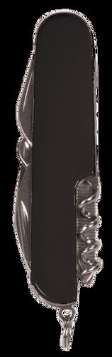 Black Finish 8-Function Multi-Tool Pocket Knife
