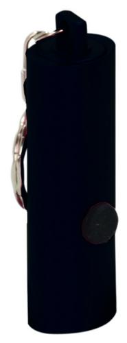 Black 3-LED Flashlight with Keychain