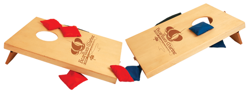 Wooden Mini Bag Toss Game with 8 Bags