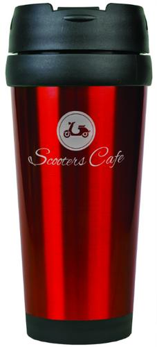 Gloss Red Travel Mug Without Handle
