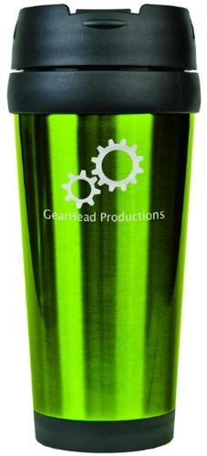 Gloss Green Travel Mug Without Handle