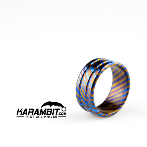 James Coogler Timascus Ring Style 1 - Size 9