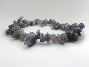 Bracelet Chip Bead - Iolite-Sunstone (Water Sapphire)
