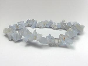 Bracelet Chip Bead - Blue Lace Agate