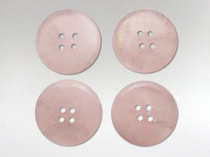 Buttons 20mm - Rose Quartz