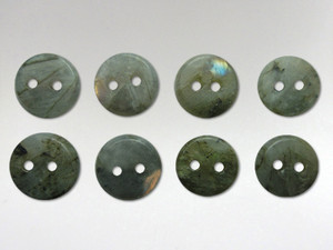 Buttons 10mm - Labradorite