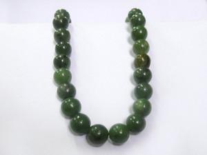 Necklace 10mm Bead - Jade Nephrite