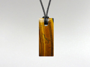 Rectangle Pendant - Tiger Eye