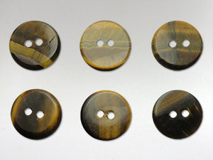 Buttons15mm - Tiger Eye