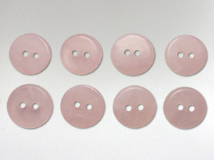 Buttons 10mm - Rose Quartz