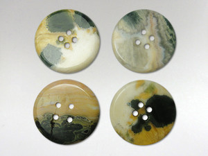 Buttons 20mm - Orbicular Jasper
